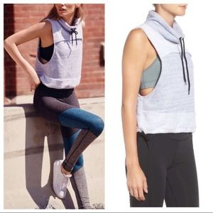 Free People Terry Wrap It Up Vest